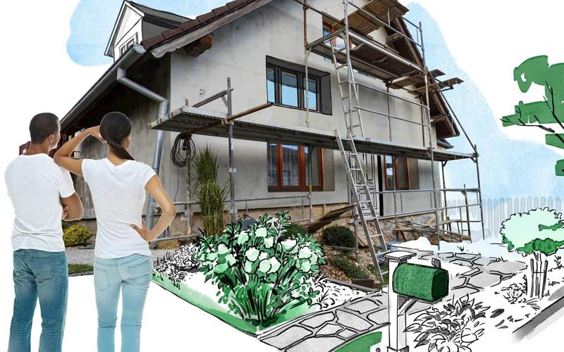 สร้างบ้านใหม่หรือรีโนเวทบ้านใหม่