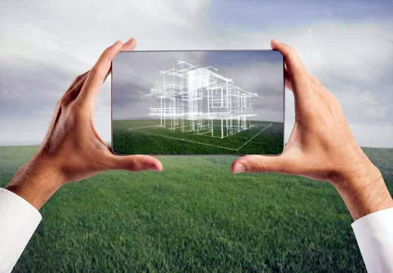 ที่ดินเปล่าที่ใช้ในการสร้างบ้าน